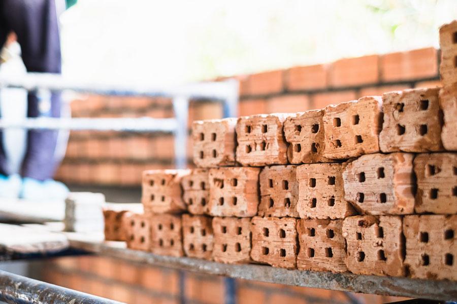 construction - bricks
